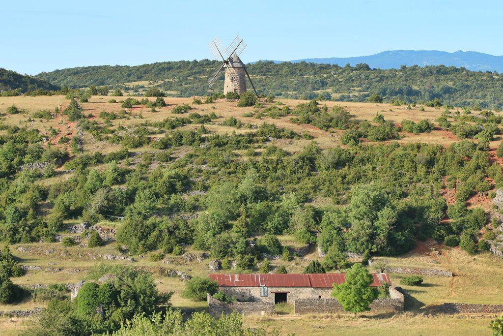 La Couvertoirade Hivernale de Roquefort